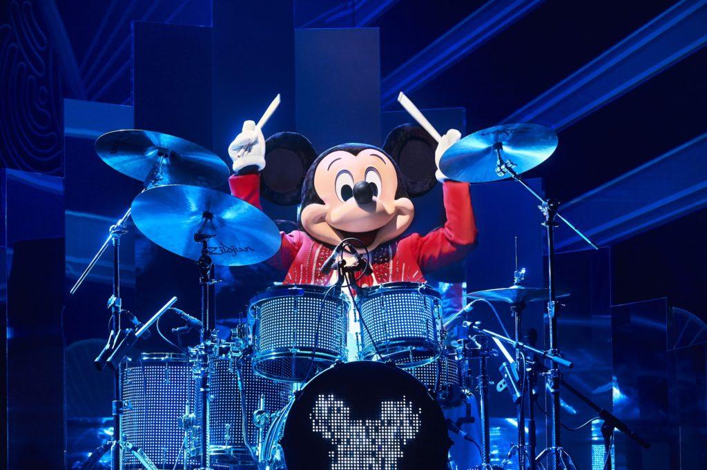 Mickey's Christmas Big Band as part of Christmas 2019 at Disneyland Paris