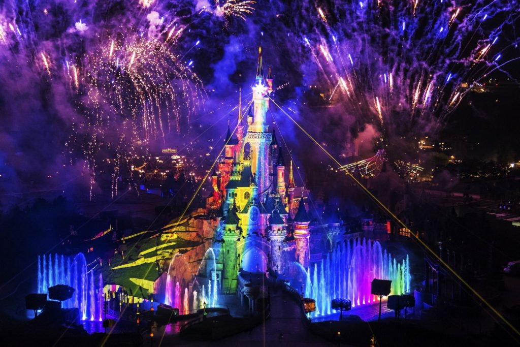 Disneyland Paris Pride 2020 Castle