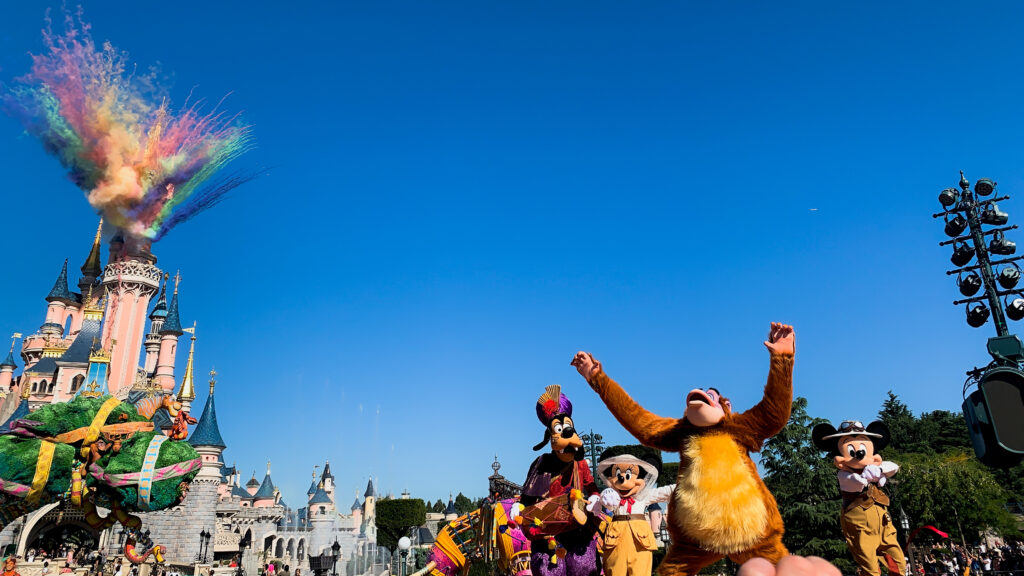 The Jungle Book Jive as part of The Lion King & Jungle Festival at Disneyland Paris