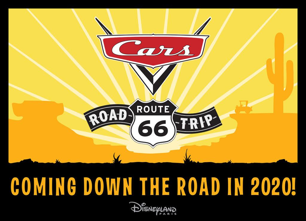 Cars Route 66 Road Trip logo