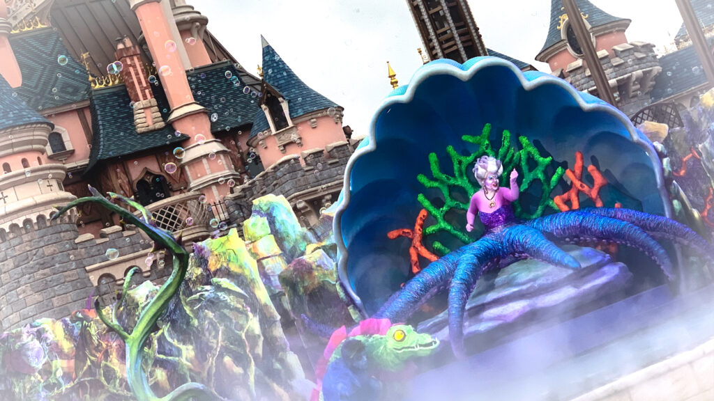 Ursula will be meeting guests at a new selfie spot this Halloween 2020 at Disneyland Paris