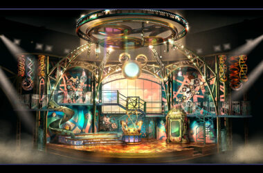 Disney Junior Dream Factory set, appearing this year in Studio D at Walt Disney Studios Park