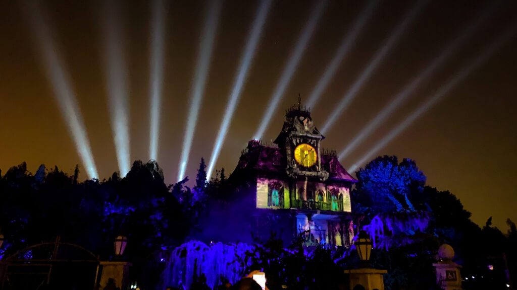 The re-opening launch of the Phantom Manor refurbishment
