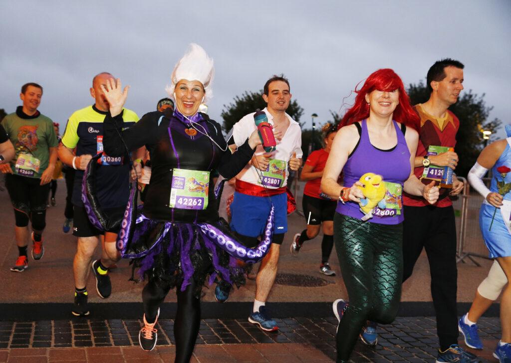 The Disneyland Paris Princess Run Weekend begins 8-10 May 2020