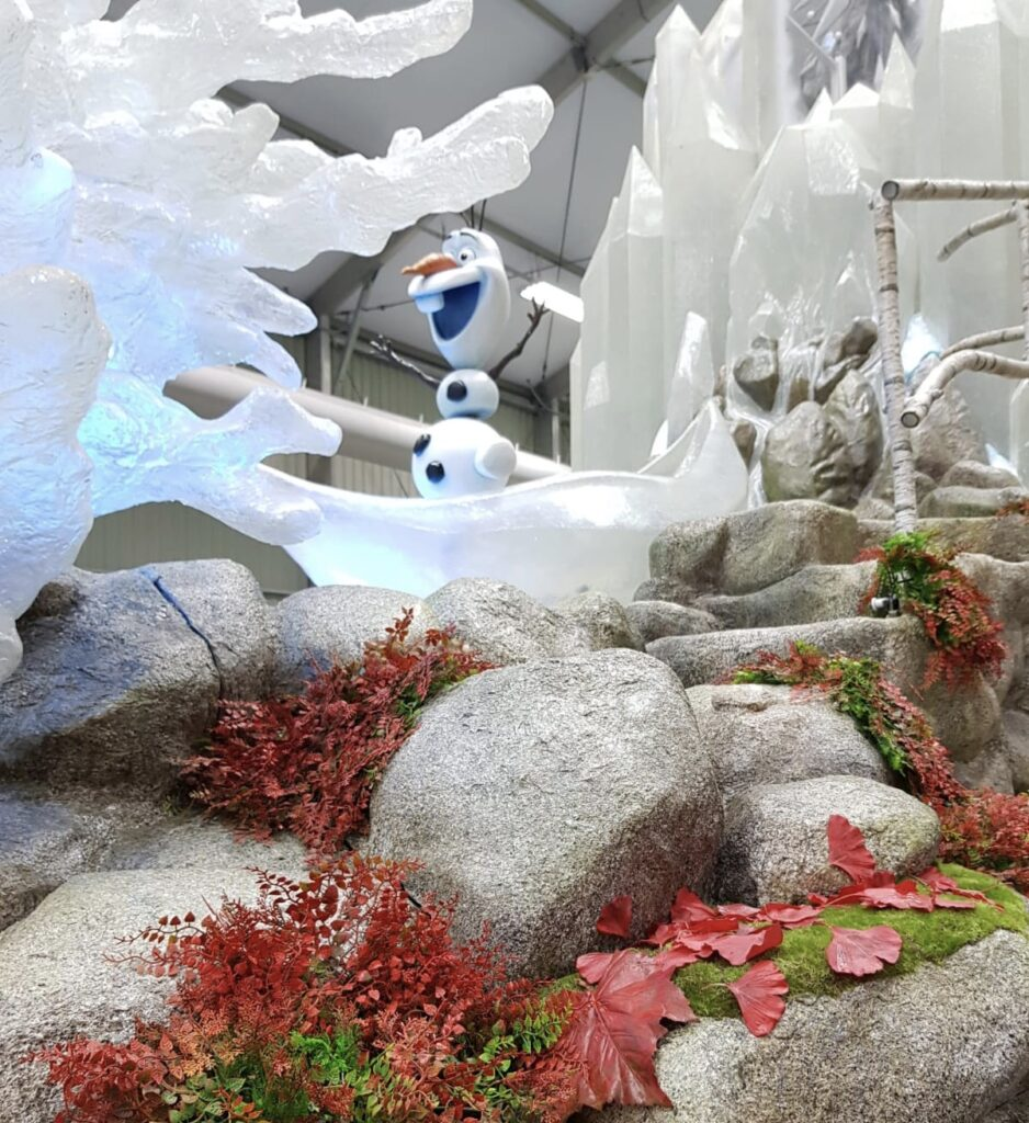 Part of the new float for Frozen 2: An Enchanted Journey, as part of Frozen Celebration