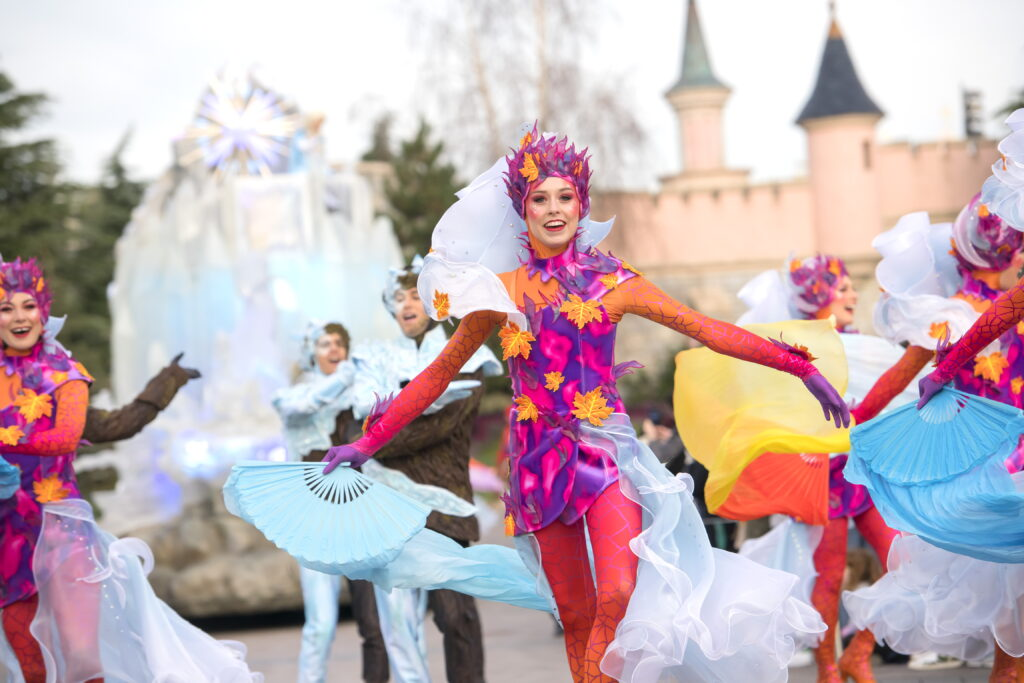 Frozen 2: An Enchanted Journey is the sole piece of entertainment available during the seasonal celebrations Frozen Celebration