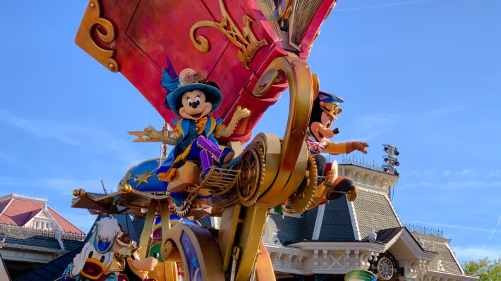 Two new parades have been announced for Disneyland Paris in 2020 and 2022