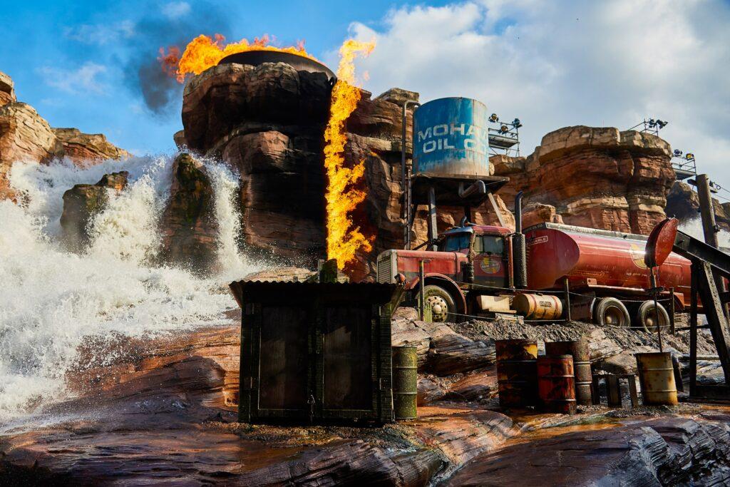 Catastrophe Canyon was the highlight of Studio Tram Tour at Walt Disney Studios Park
