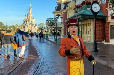 The Mayor of Main Street is expected to appear at Disneyland Park Adventures