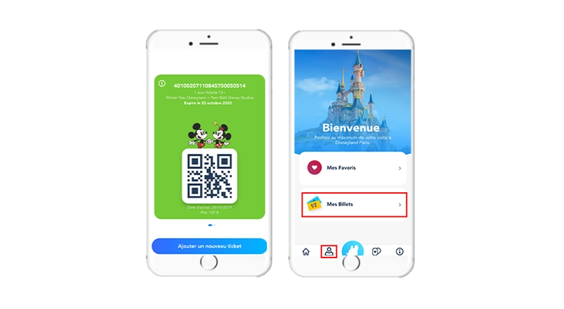 Select apps can now be scannable via QR codes on the official Disneyland Paris app, via version 5.3