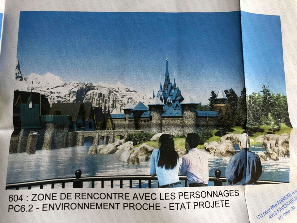 Arendelle castle is set to be the home to a dedicated meet & greet, coming to the Frozen land at Disneyland Paris