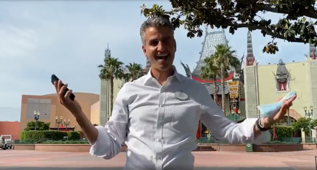 Josh D'Amaro has been made the Chairman of Disney Parks, Experiences and Products