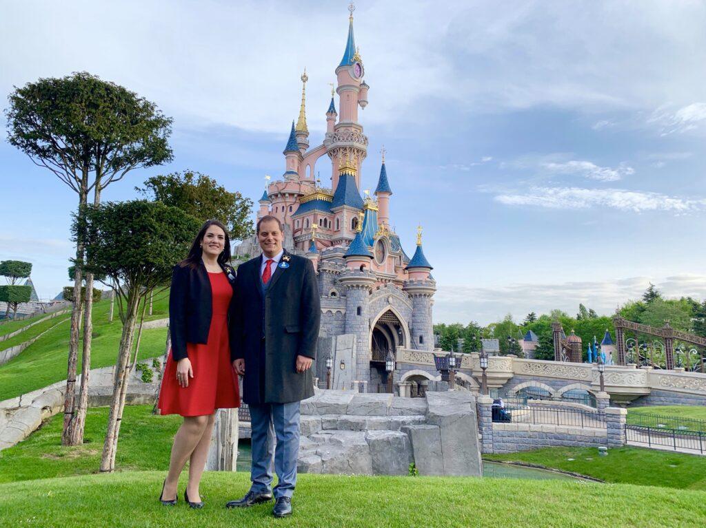 Giona and Joana have both served as Disney Ambassador for Disneyland Paris throughout this trying time