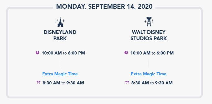 Disneyland Park Hours are about to see a dramatic reduction from 14th September