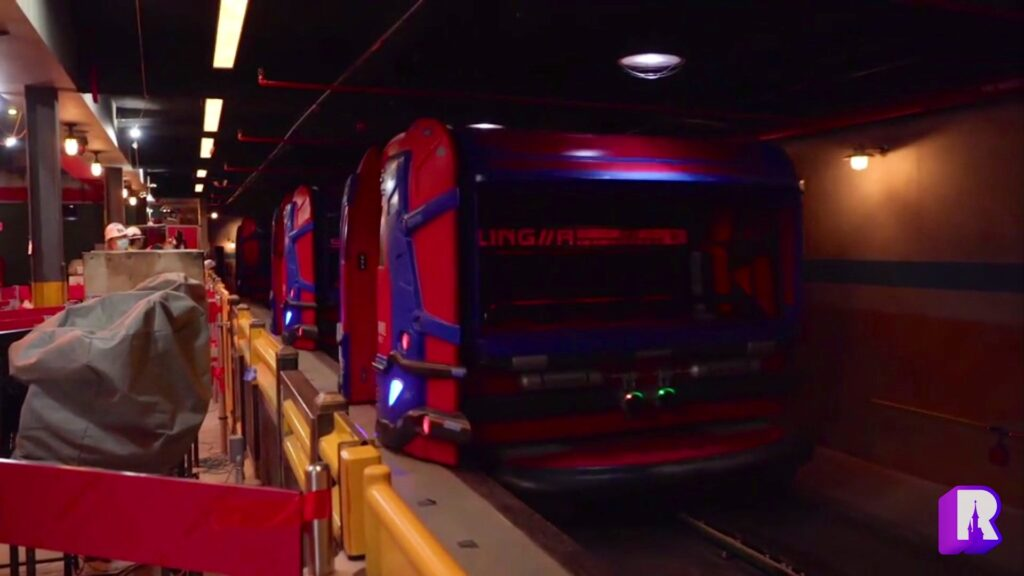 First look at the WEB Slinger ride vehicles coming to Web-Slingers: A Spider-Man Adventure