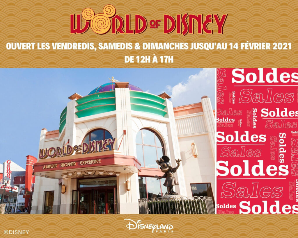World of Disney is to temporarily re-open for three consecutive weekends, allowing guests to take advantage of the winter sale