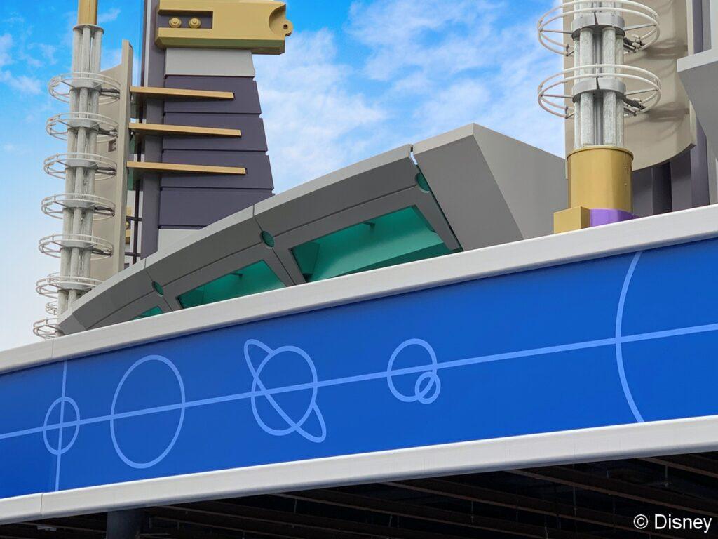 An update on Buzz Lightyear's Laser Blast, one of many refurbishments underway in Disneyland Paris