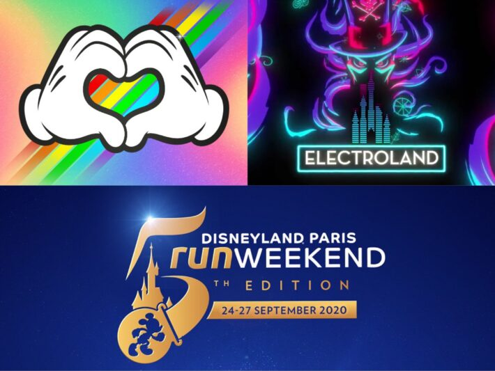 Disneyland Paris Pride. Electroland and DLP Run Weekend have been cancelled for the 2021 calendar