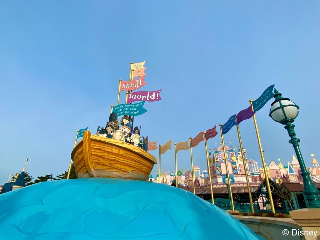 An update on it's a small world, one of many refurbishments underway in Disneyland Paris