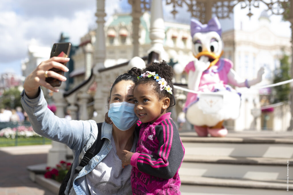Selfie Spots are just one of several features returning to Disneyland Paris as the resort re-opens on 17th June
