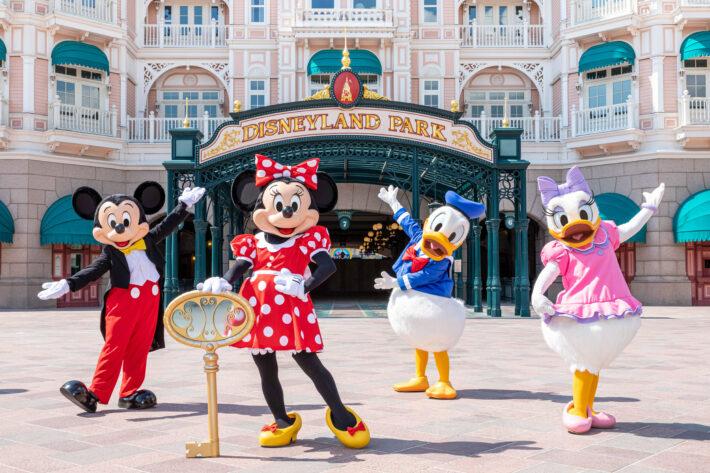 Disney characters prepare for Disneyland Paris' re-opening on 17th June