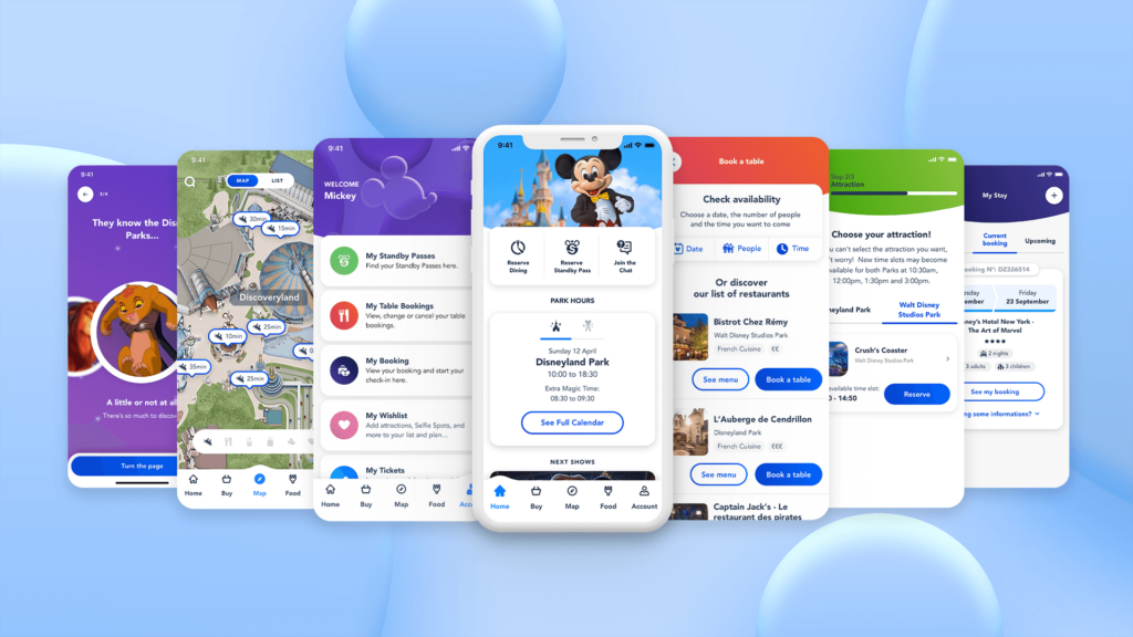 A look at the new features come to the official Disneyland Paris app, including Disney Premier Access