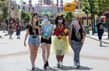 From 21st July, all adults will be required to have a valid Health Pass in order to visit Disneyland Paris