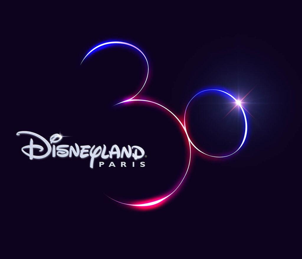 Official logo for Disneyland Paris 30th Anniversary