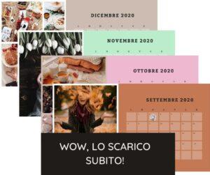 Calendario dell'armonia lunare da scaricare gratis