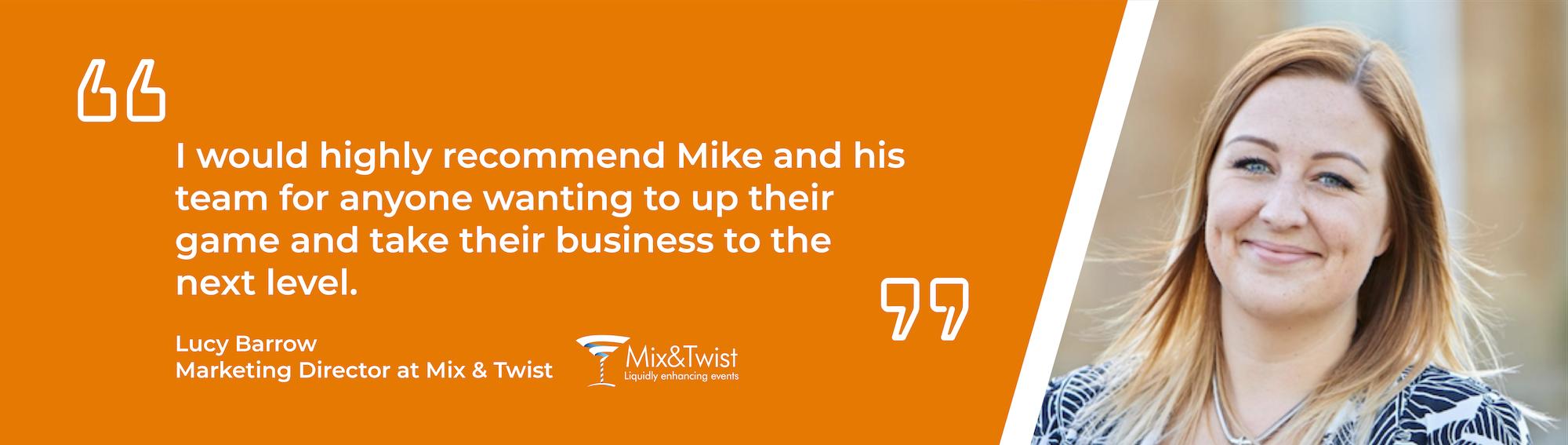 Mike Midgley Testimonial Mix and Twist