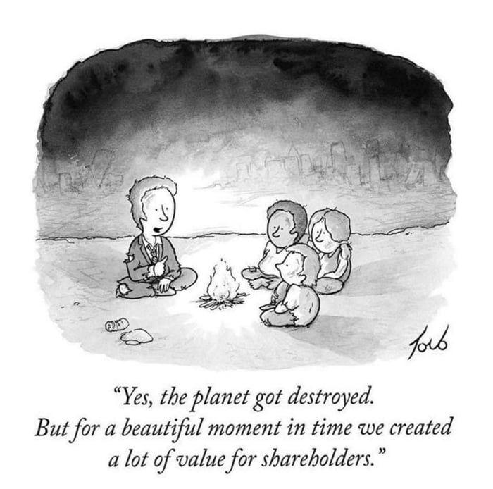 WTF is Maximizing Shareholder Value