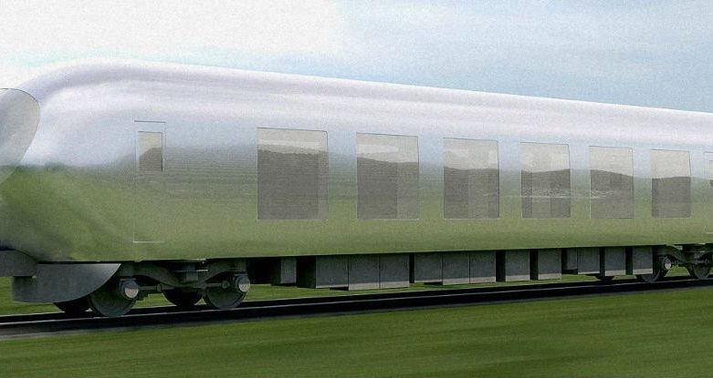 Invisible train from Japan might hit the tracks by 2018