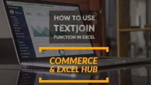Excel TEXTJOIN function