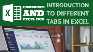 Introduction to different tabs in Excel