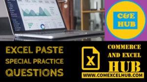 Paste special Sample Practice questions
