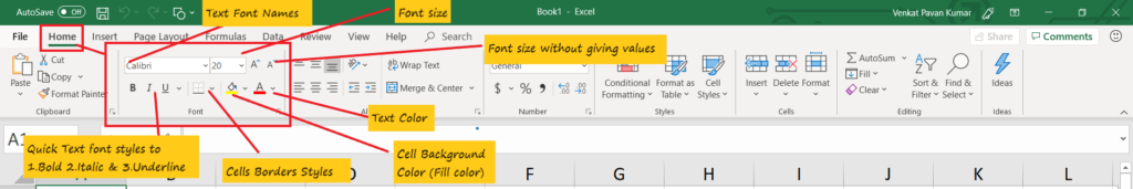 Excel basics Training for beginners images