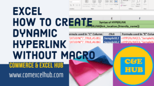 how to create hyperlink in excel