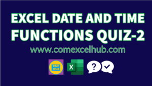 Free Excel Exams