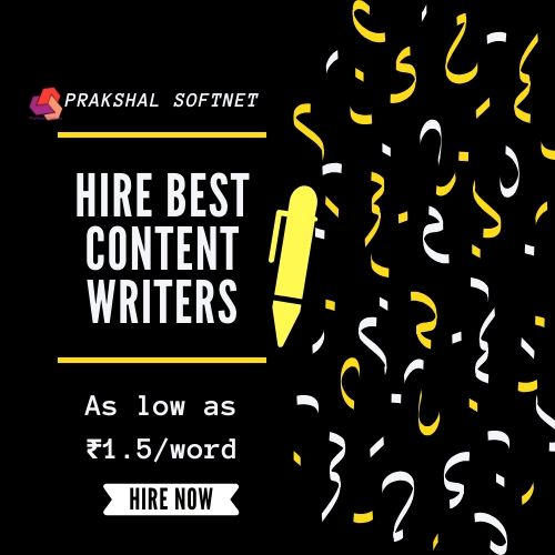 Hire Best Content Writer In India