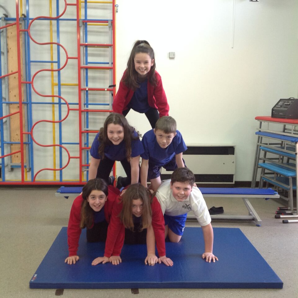 Class 6's PE Session – 23rd January 2020