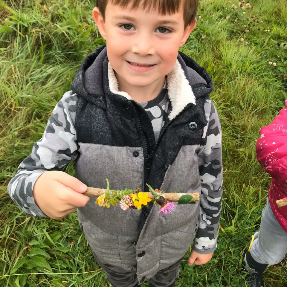 Class 1's Visit to Three Hagges Wood-Meadow – 25 September 2019