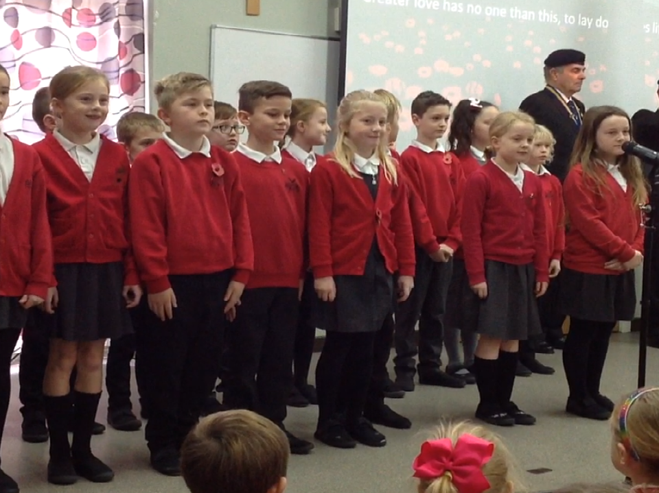 Class 4's Remembrance Service – 11th November 2019