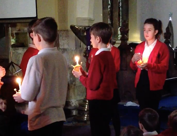 Class 6's Christingle Service – 2nd December 2019