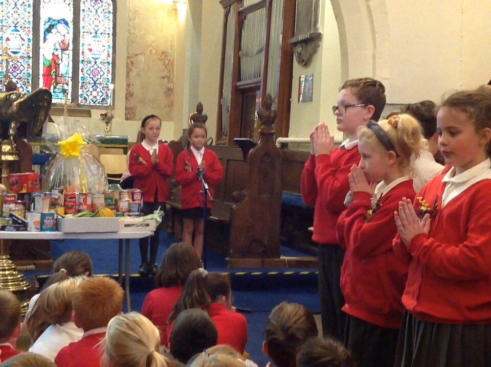 Class 5's Harvest Festival Service – 3rd October 2019