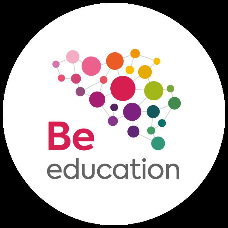Be education acteurs enseignement logo