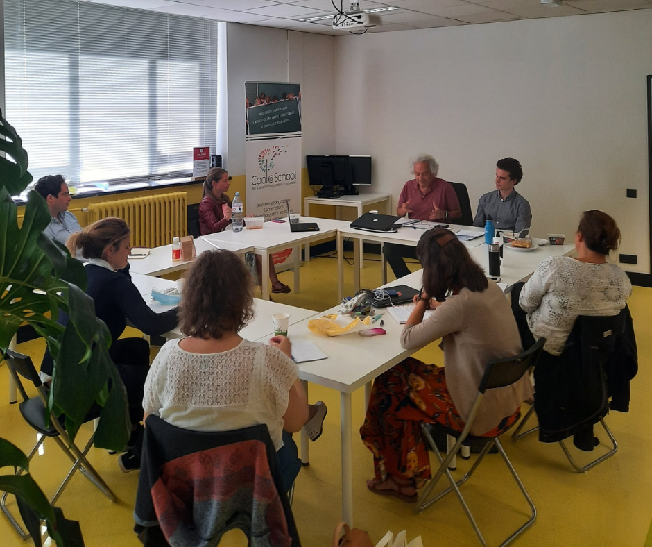 Informal meetings to share good practices