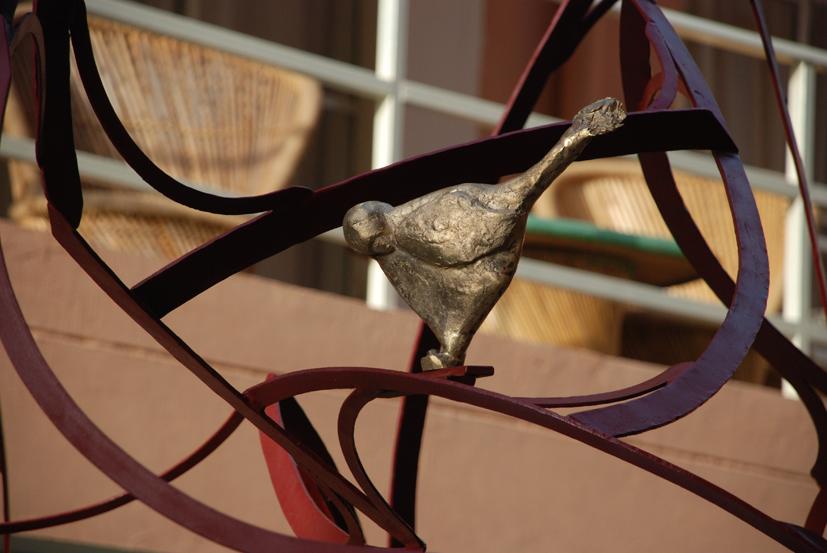 La Conference des oiseaux de Attar, détail, Inde