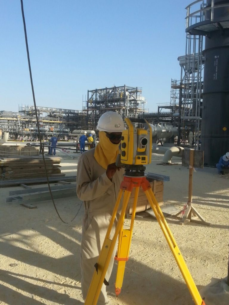 Construction Survey At Sulphar Plant
