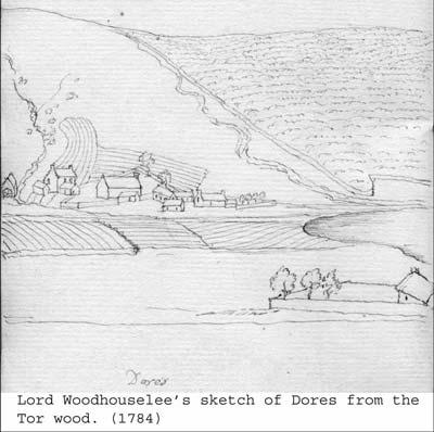 Sketch of Dores.