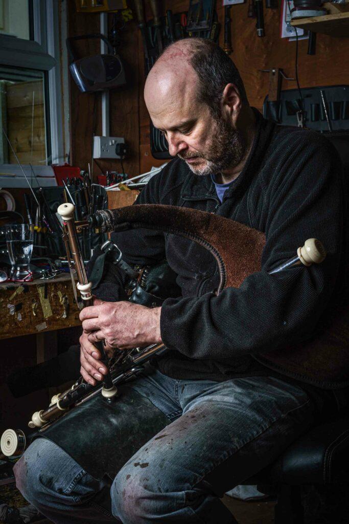 Donnacha Dwyer Uilleann pipes maker